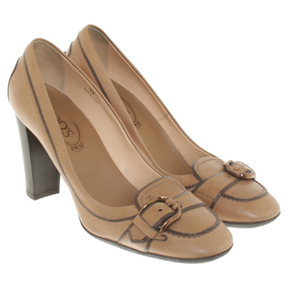 Tod's pumps marrone chiaro