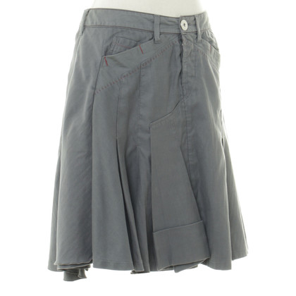 Marithé et Francois Girbaud skirt in grey