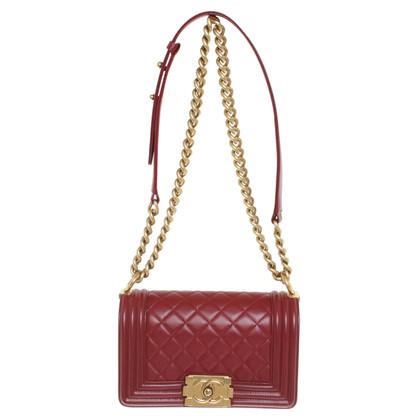 Chanel Shoulder bag in dark red
