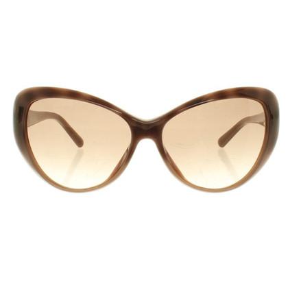Valentino Taupefarbene Sonnenbrille