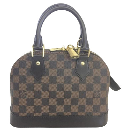 "Louis Vuitton ""Alma BB Damier Ebene Canvas"""