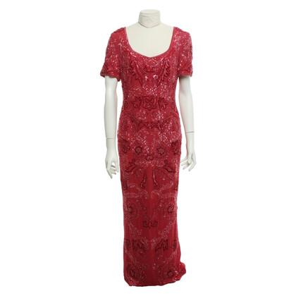 Escada Hand-embroidered silk dress
