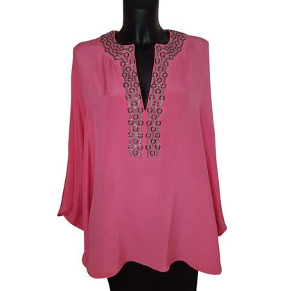 Emilio Pucci tunica di seta in rosa