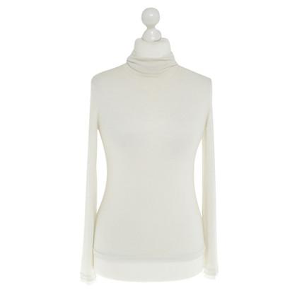Comptoir des Cotonniers maglione a collo alto in beige