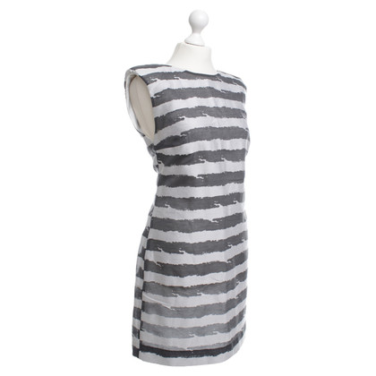 Drykorn Dress with stripe pattern