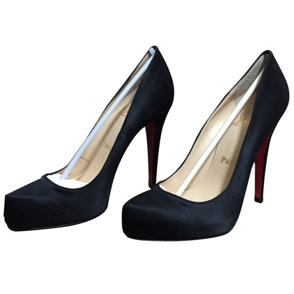 Christian Louboutin pumps satin