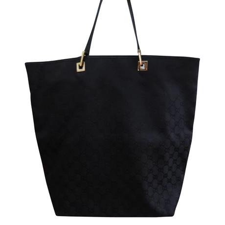 Gucci Tote Bag Schwarz Günstig Kaufen Besten Laden Zu Bekommen Spielraum Rabatte Auslass Echt Rabatt Neueste 8xulEHIVU