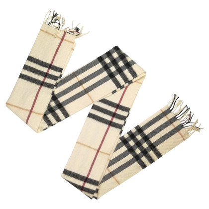 Burberry Scarf with Nova check pattern