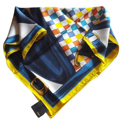 Fendi foulard de soie