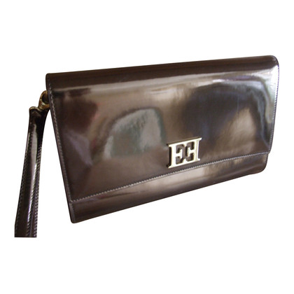 Escada Clutch in Metallic