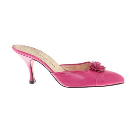 Blumarine Mules in rosa