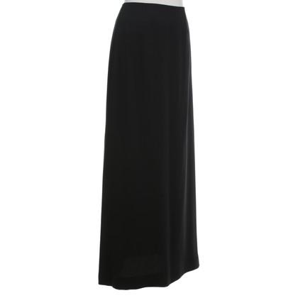Laurèl Zijden rok zwart