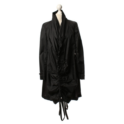 Marithé et Francois Girbaud Rain coat in black