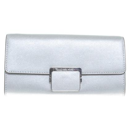 Michael Kors clutch in argento