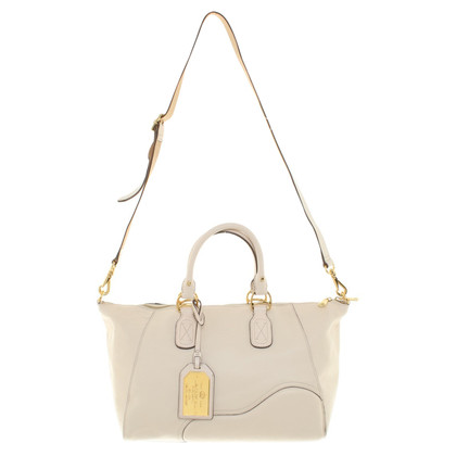Ralph Lauren Leather handbag in beige