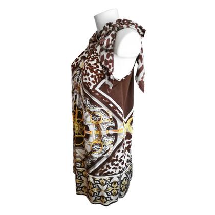 Roberto Cavalli Viscose dress with pattern