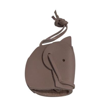 Hermès Bag charm in taupe
