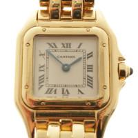 Cartier Panthère Armbanduhr aus Gelbgold