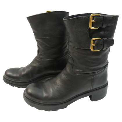 Prada Buckle Boots