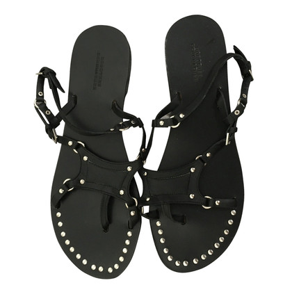 Dorothee Schumacher Black sandals with rivets