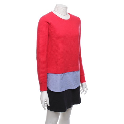 J. Crew Sweater in rood / blauw