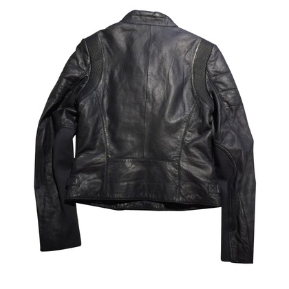 Closed Bikerjacke aus Leder