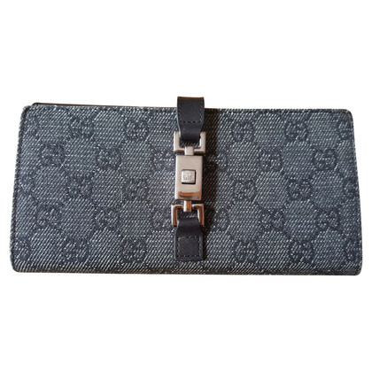 Gucci denim Wallet