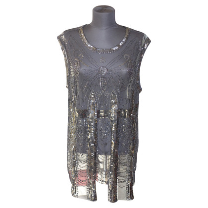 Pierre Balmain Sequin Top in zwart