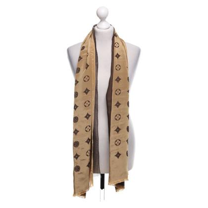Louis Vuitton Sciarpa con motivo monogramma