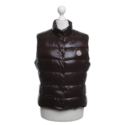 Moncler Bodywarmer in donkerbruin