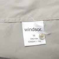 Windsor Blouse in grey