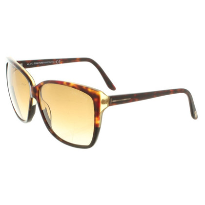 "Tom Ford Sonnenbrille ""Lydia"" in Braun"