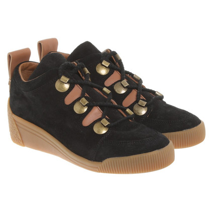 See by Chloé Lace-up shoes in black / brown