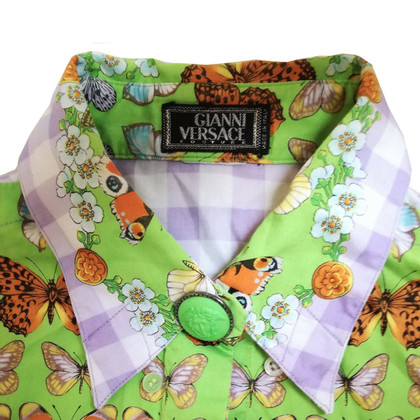 Gianni Versace Couture Iconic Butterfly Shirt