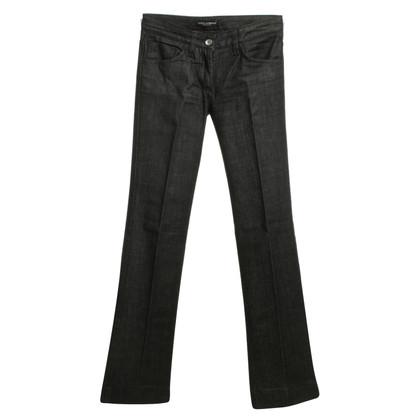 Dolce & Gabbana Elegante, jeans neri