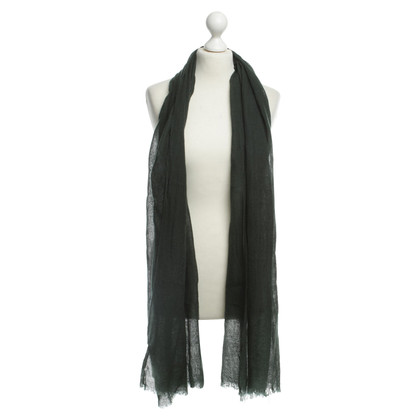René Lezard Scarf in dark green