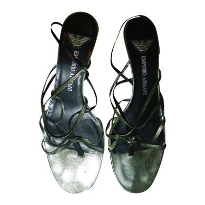 Armani leather sandals