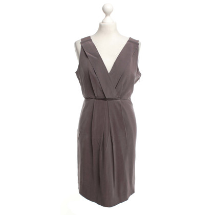 J. Crew Silk dress in taupe