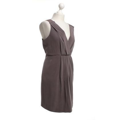 J. Crew zijden jurk in Taupe