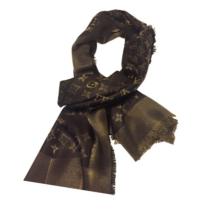 Louis Vuitton Shawl shine brown