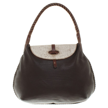 Henry Beguelin Leather bag in brown