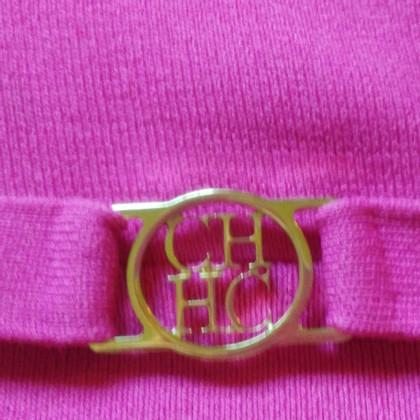 Carolina Herrera Top en rose