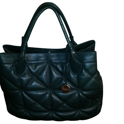 Furla Handbag in green leather