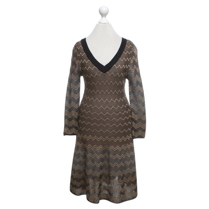 Missoni Knit dress in brown