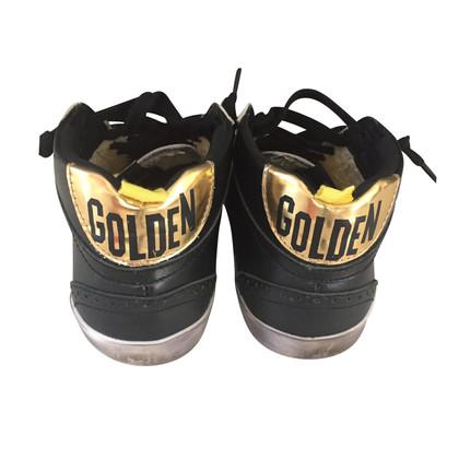 Golden Goose La metà alta scarpa da tennis