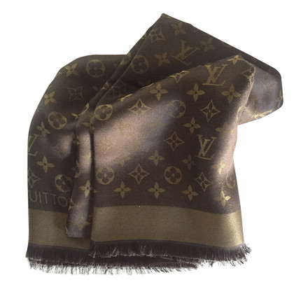 Louis Vuitton stole lurex marrone orao