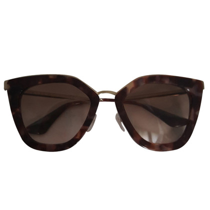 Prada OCCHIALI DA SOLE CAT EYE Brown Pink