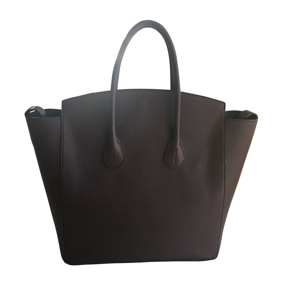 Bally Tassen Online : Bally tas tote bag merlot koop tweedehands