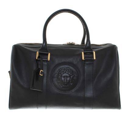 Gianni Versace Weekender in zwart