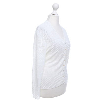 Iris von Arnim Vest in White